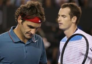 Federer, murray (roger federer, andy murray, )