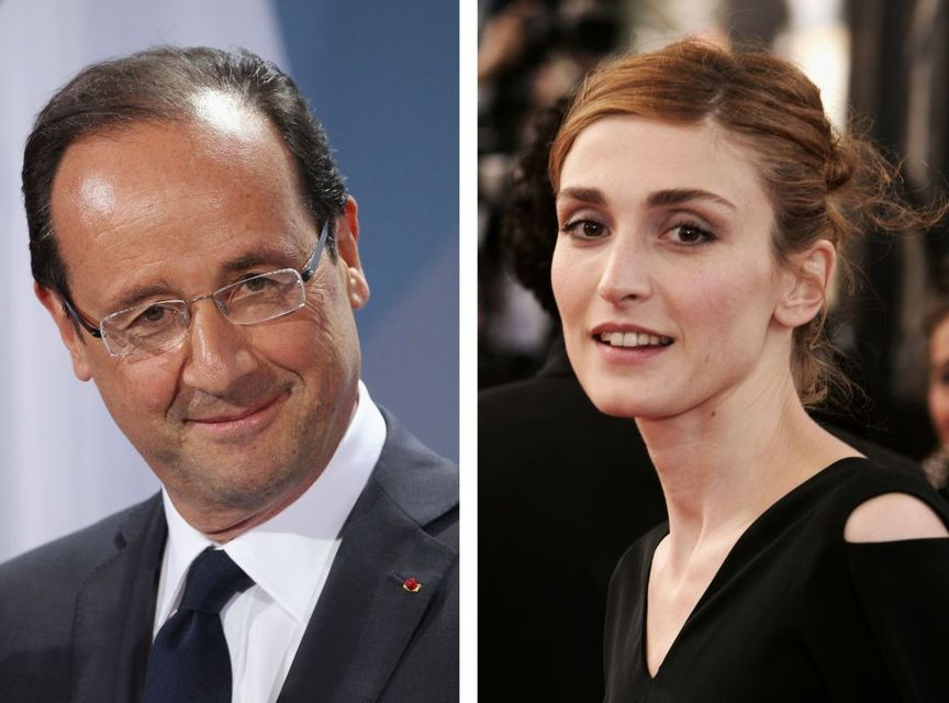 Francois Hollande és Julie Gayet  (francois hollande, julie gayet, )