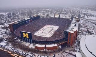 Michigan Stadion (Michigan Stadion, winter classic, nhl, )