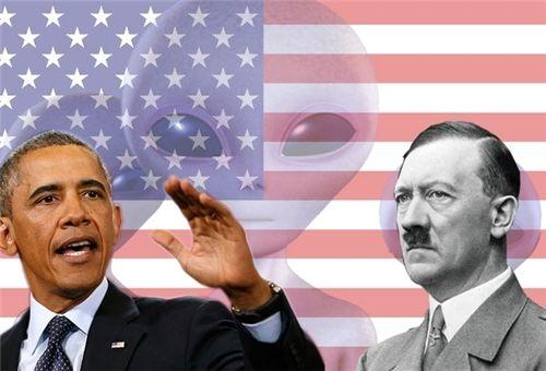 Nazi Aliens USA (földönkívüliek, )
