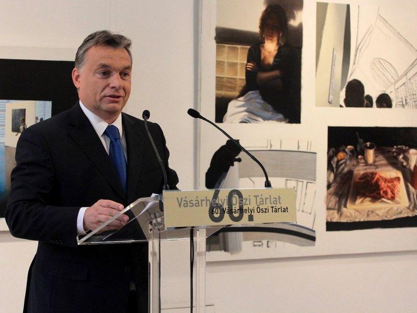 Orbán Viktor (orbán viktor, vásárhelyi őszi tárlat)