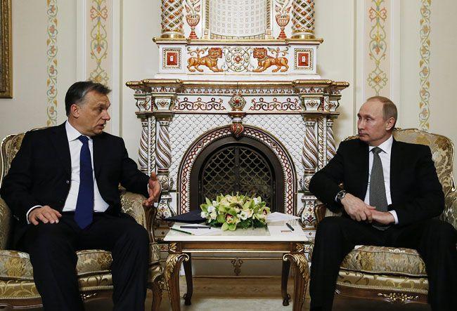 Orbán és putyin (orbán, putyin, )