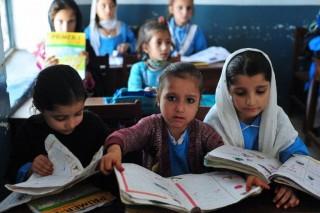 Pakisztáni diákok (pakisztán, diákok, iskola, )