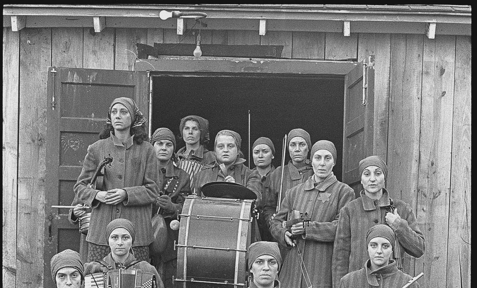 a haláltábor zenekara (haláltábor, zenekar, auschwitz, )