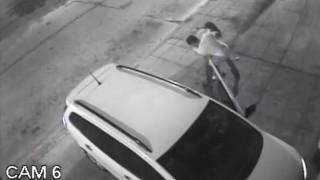 autólopás (autólopás, paprikaspray, biztonsági kamera, )