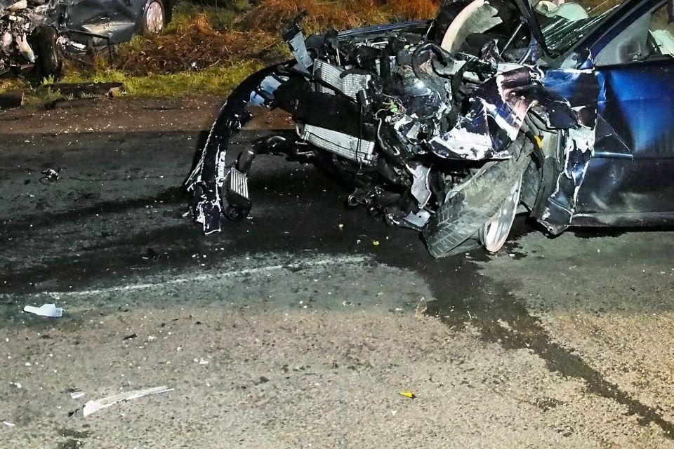 baleset, frontális karambol (baleset, )