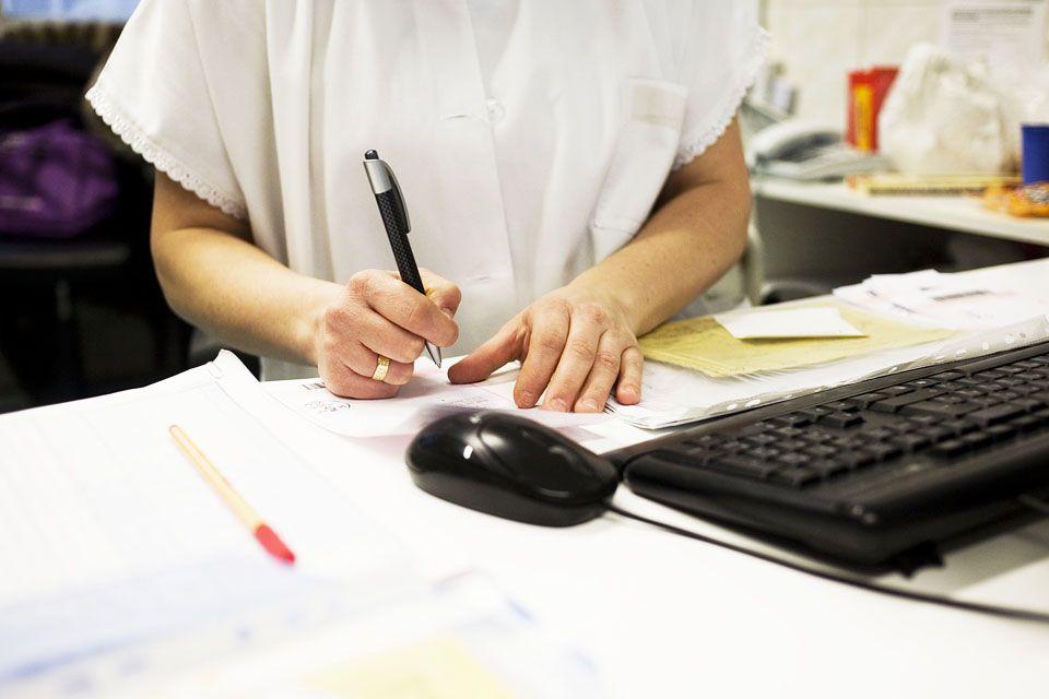 háziorvosi rendelés (háziorvos, recept, beteg, )