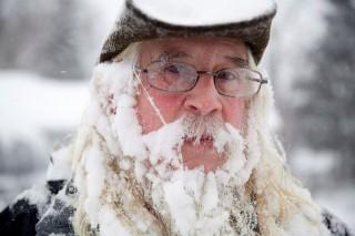 jeges szakáll (hideg, tél, szakáll, jég, )