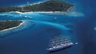 luxushajó (luxushajó, karib-tenger)