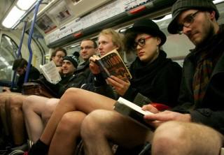 nadrág nélkül a metrón, No Pants Subway Ride London (No Pants Subway Ride)