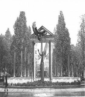 német megszállás emlékmű (német megszállás, szobor, )