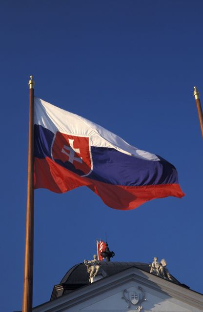 szlovákia, szlovák zászló (szlovákia, )