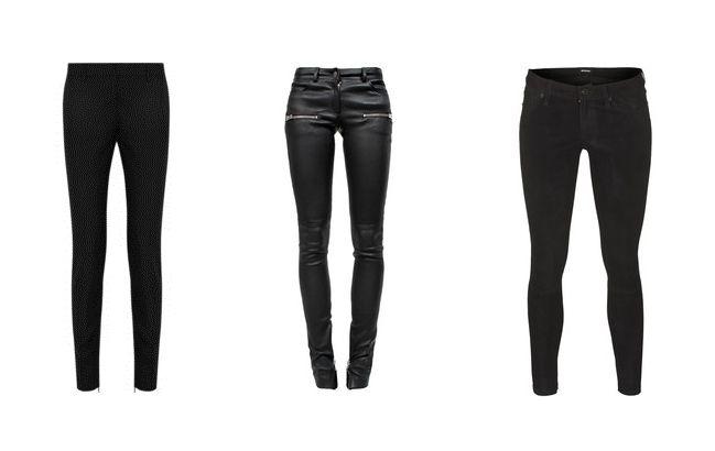 Fekete nadrág (nadrág, fekete)