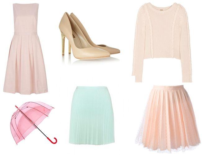 Pasztell színek, tavaszi divat (pasztell, )