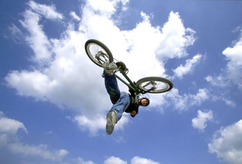 bmx (bicikli, biciklis, extrém sport, )