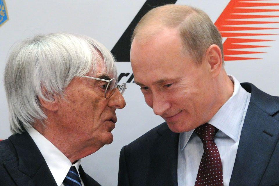 ecclestone putyin (bernie ecclestone, vlagyimir putyin, forma-1, orosz nagydíj, )