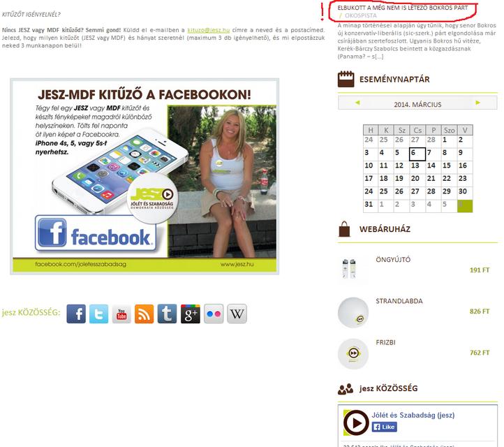 Jesz (weblap, politika, választás 2014, jesz, )