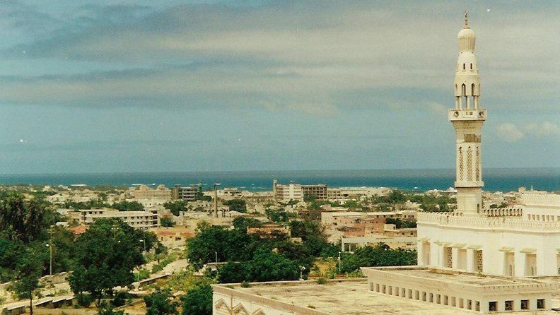 Mogadishu (mecset, mogadishu, szomália, )