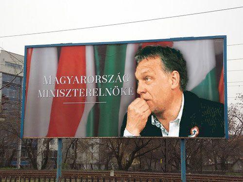 Orbán szotyi (orbán viktor, óriásplakát)