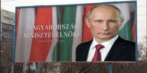 Putyin-Orbán (orbán viktor, óriásplakát, vlagyimir putyin, )