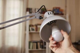 lámpa égő (lámpa, égő, villanykörte, )