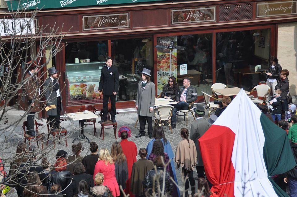 március 15-ei ünnepség Fehérváron (március 15-ei ünnepség Fehérváron)
