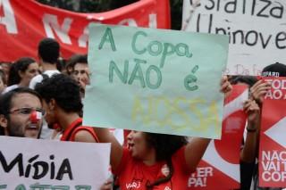 sao paolo tüntetés (sao paolo tüntetés)