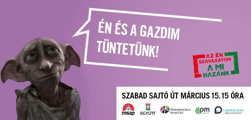 tüntetés plakát mém3 (plakát, mém, )