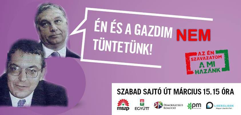 tüntetés plakát mém7 (plakát, mém, )
