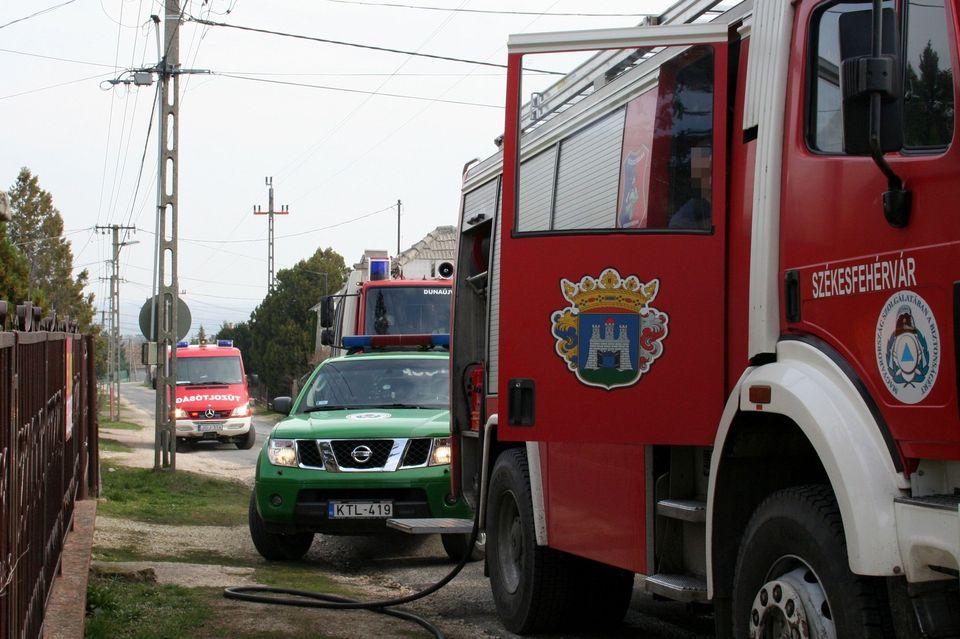 tűzoltók (székesfehérvári tűzoltók, szivattyú, )