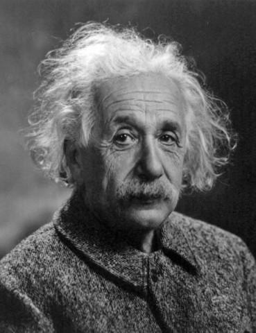 Albert Einstein 1947 (einstein, portré, )