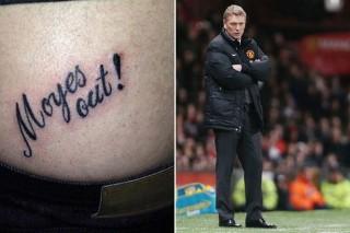 David Moyes, tetoválás (davod moyes, tetoválás, )