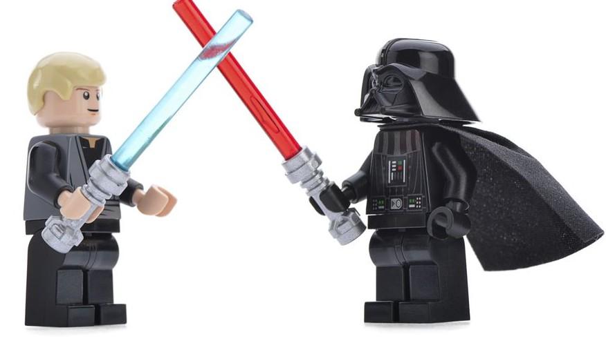 Lego Luke Skywalker vs Darth Vader (Luke Skywalker, Darth Vader, Lego, )