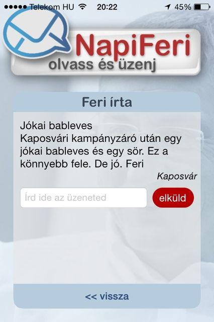 feri bableves (gyurcsány ferenc, )
