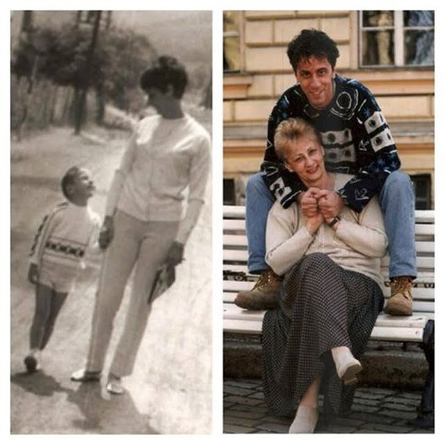 Csonka András és édesanyja (csonka andrás, )