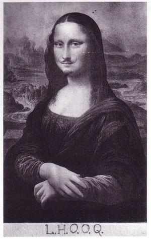 Meborotvált Mona Lisa (mona lisa, szakállas nő)