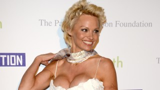 CANNES, FRANCE - MAY 16:  Pamela Anderson attends The Pamela Anderson Foundation launch co-hosted by Dame Vivienne Westwood in support of Cool Earth at the Cannes Film Festival on May 16, 2014 in Cannes, France.  (Photo by David M. Benett/Getty Images for The Pamela Anderson Foundation)