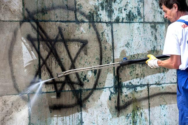 antiszemitizmus (antiszemitizmus, rongálás, )
