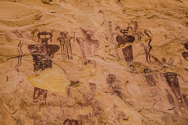 ősi idegenek (ufo, idegen, rajz, )