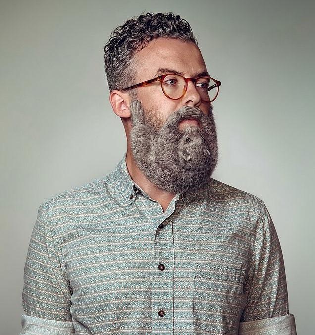 hipszerszakáll 2 (szakáll, hipszter, rágcsáló)