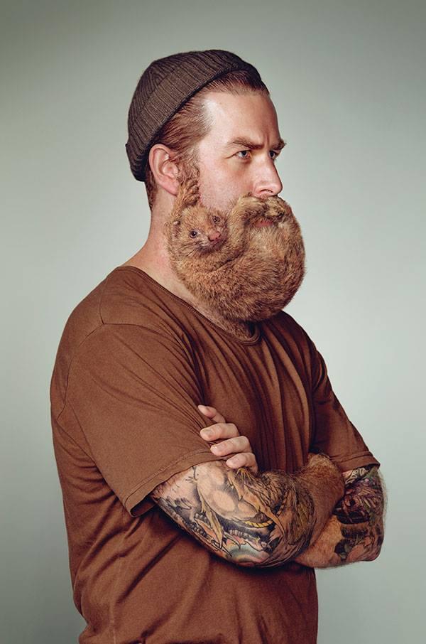 hipszerszakáll 3 (szakáll, hipszter, rágcsáló)
