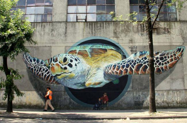 street art (graffiti, )