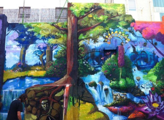 street art (street art, )