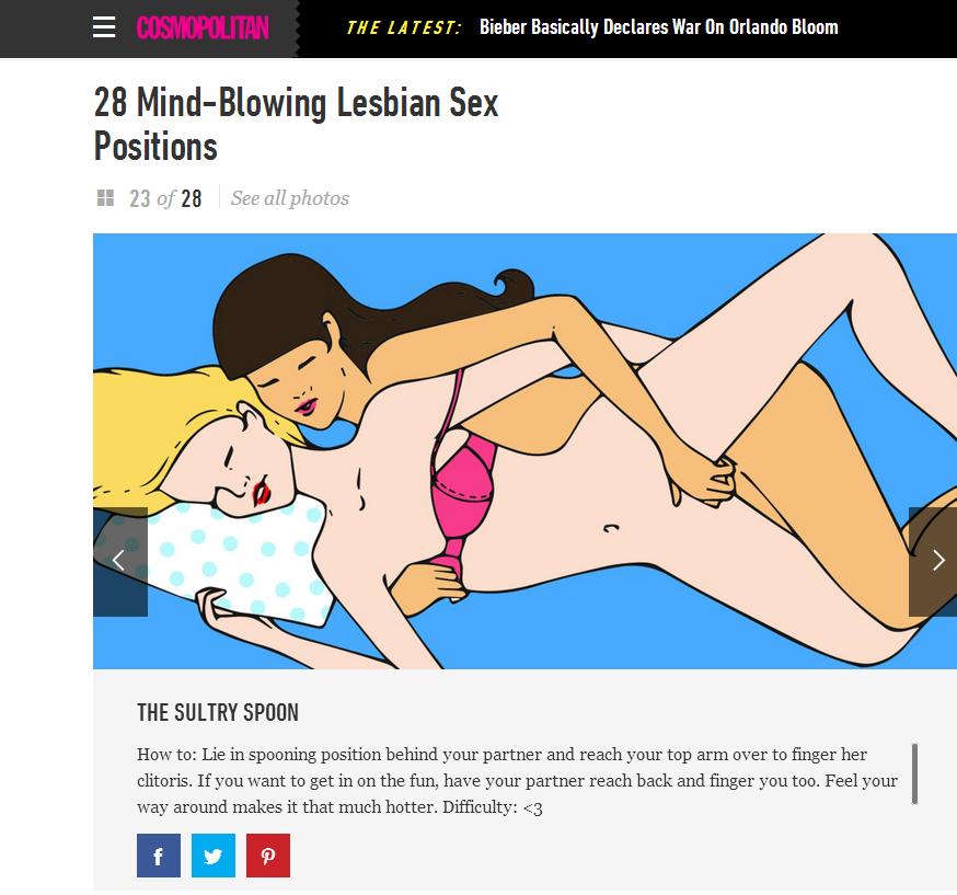 szexuális pozíciók leszbikusok számára