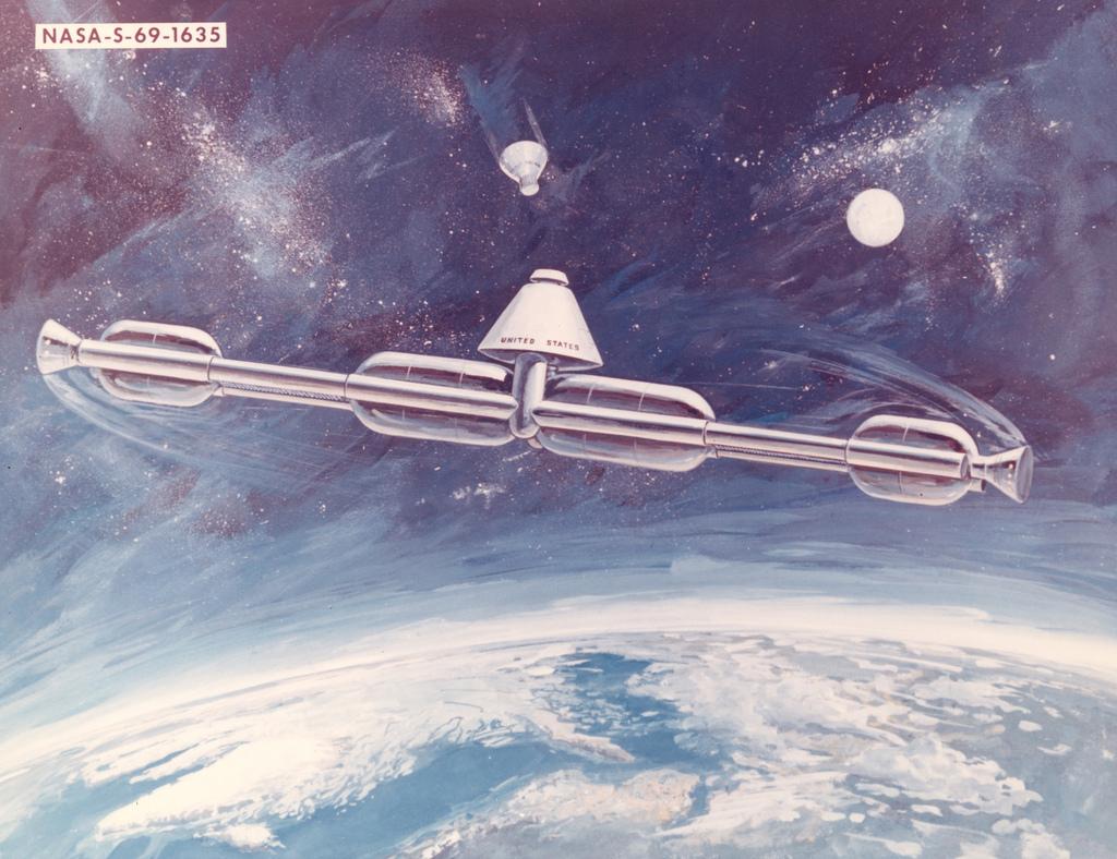 Forgó űrállomás (űrállomás, )