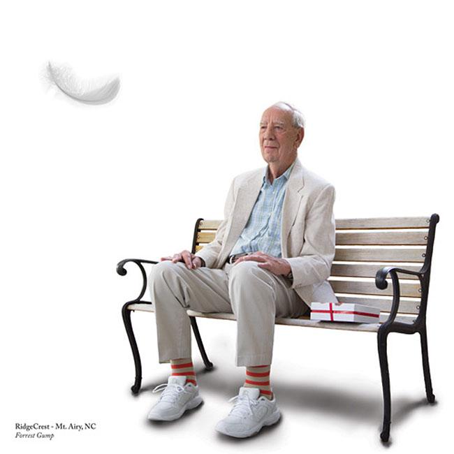 Forrest Gump (idősek, film, forrest gump)