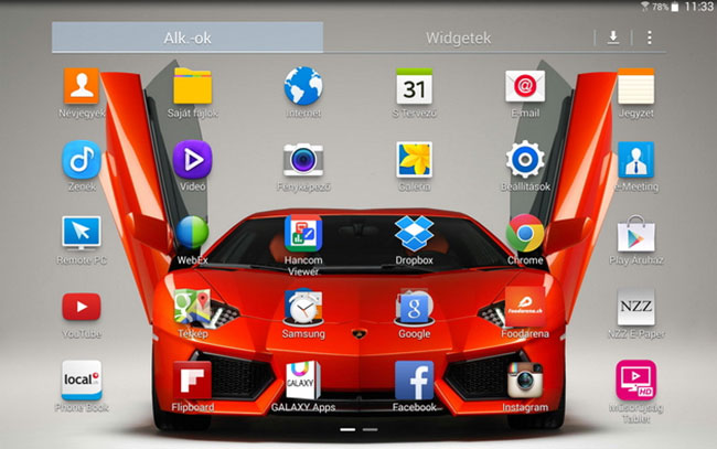 galaxytabpro10 (mobilport, samsung, galaxy, galaxy tab, tablet, android, teszt, bemutató, )