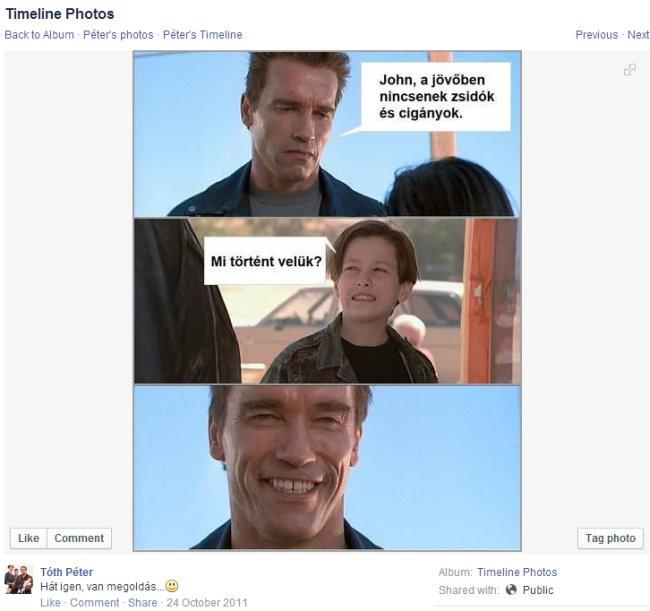jobbikos polgármesterjelölt facebookozik (tóth péter, jobbik, szeged, )