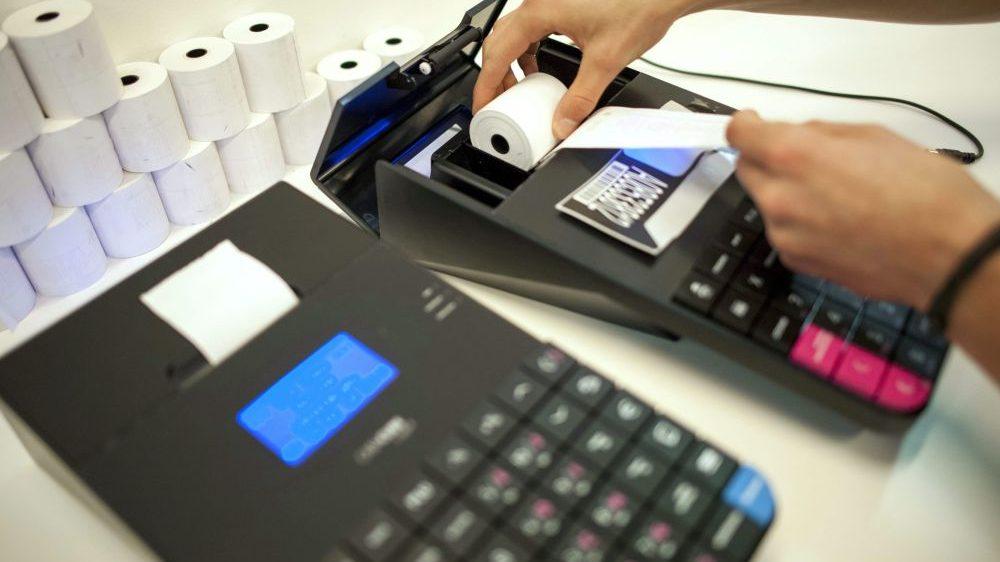 pénztárgép (pénztárgép, kassza, kiskereskedelem, blokk, )