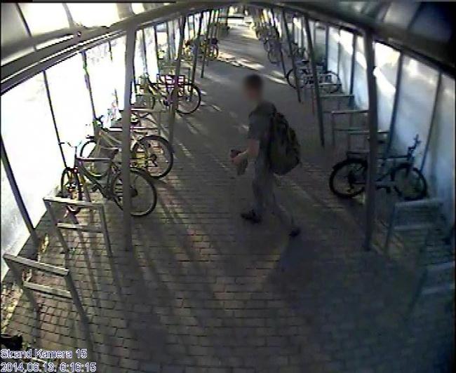 Biciklilopási ügy (biciklilopás, térfigyelő kamera, )